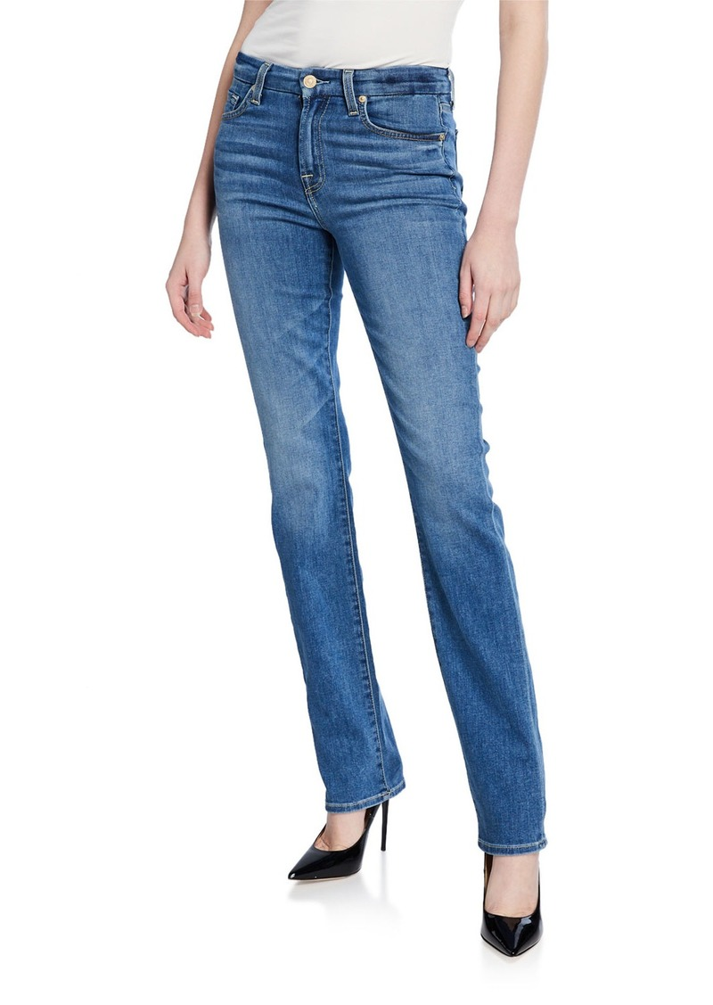 7 For All Mankind Kimmie Straight-Leg Squiggle Jeans