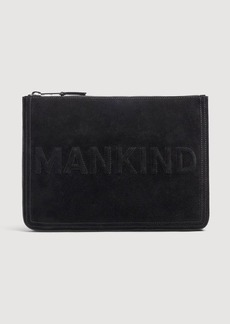 7 For All Mankind Large Mankind Clutch in Black