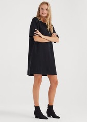 7 For All Mankind Large Pocket Dress in Black