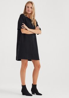 7 For All Mankind Large Pocket Dress in Black
