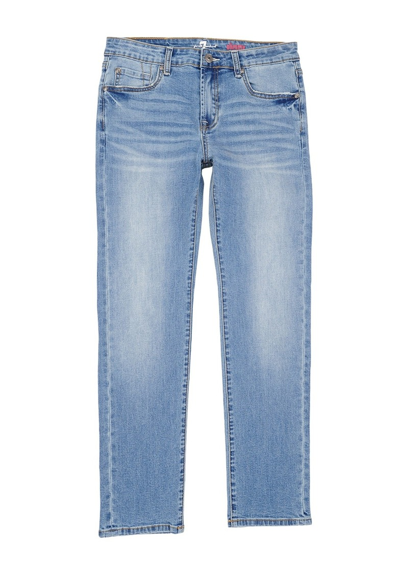 7 For All Mankind Lightweight Stretch Slim Fit Jeans (Little Boys)