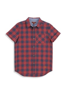 7 For All Mankind Little Boy's & Boy's Check Shirt