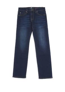 7 For All Mankind Little Boy's & Boy's Standard Straight-Leg Jeans