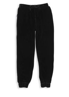 7 For All Mankind Little Boy's & Boy's Velour Jogger Pants