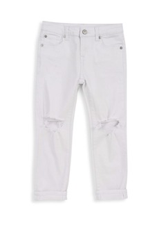 7 For All Mankind Little Girl's & Girl's Josefina Ripped Jeans