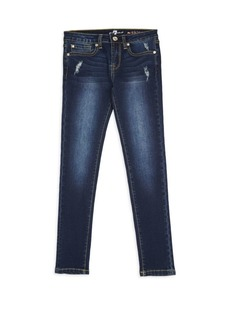 7 For All Mankind Little Girl's & Girl's Slimmy Five-Pocket Jeans