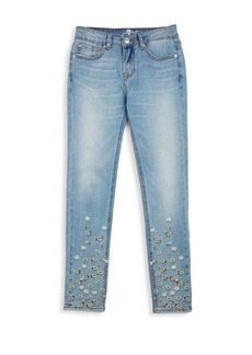 7 For All Mankind Little Girl's The Skinny Pant Jeans