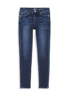 7 For All Mankind Little Girl's The Skinny Stretch Denim Jeans