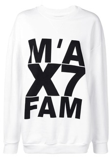 7 For All Mankind logo print sweatshirt