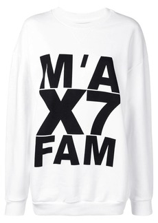 7 For All Mankind logo print sweatshirt