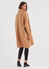7 For All Mankind Long Jacket in Camel