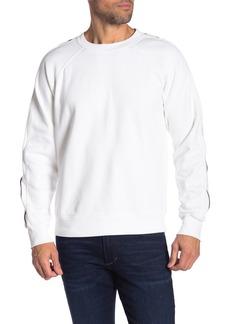 7 For All Mankind Long Raglan Sleeve Sweatshirt