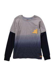 7 For All Mankind Long Sleeve 2-Fer Shirt (Big Boys)