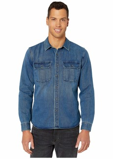 7 For All Mankind Long Sleeve Double Patch Pocket Shirt