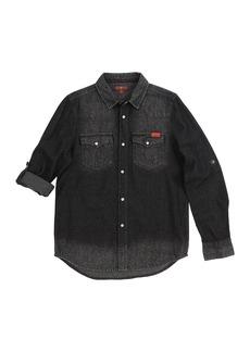 7 For All Mankind Long Sleeve Western Shirt (Little Boys)