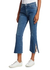 7 For All Mankind Luxe High-Rise Slim-Fit Kick Flare Jeans