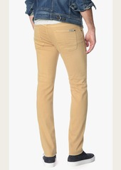 7 For All Mankind Luxe Performance Colored Denim Slimmy Slim in Apricot