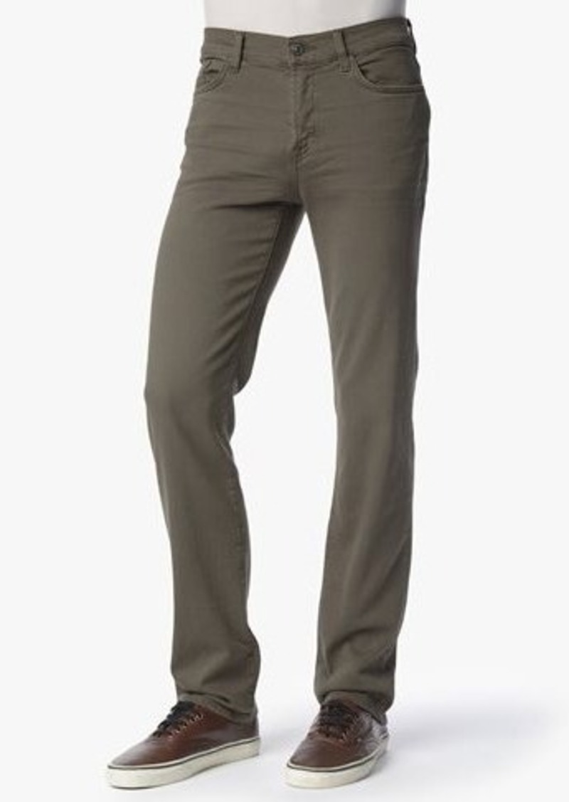 7 For All Mankind Luxe Performance Colored Denim: Slimmy Slim in Driftwood