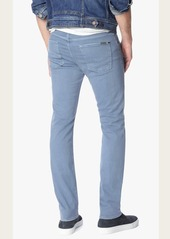 7 For All Mankind Luxe Performance Colored Denim Slimmy Slim in Fresh Water