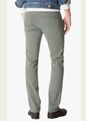 7 For All Mankind Luxe Performance Colored Denim Slimmy Slim in Sage