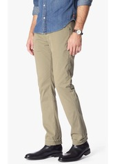 7 For All Mankind Luxe Performance Sateen The Straight in Khaki