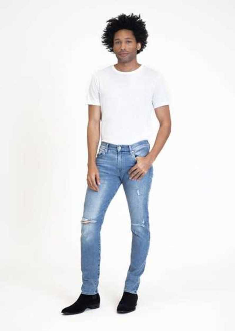 7 For All Mankind Luxe Sport Paxtyn Skinny in Bignell Destroyed