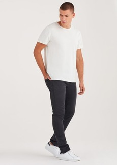 7 For All Mankind Luxe Sport Paxtyn Skinny With Clean Pocket in Storm Shadow