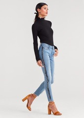 7 For All Mankind Luxe Vintage Ankle Skinny in Flora
