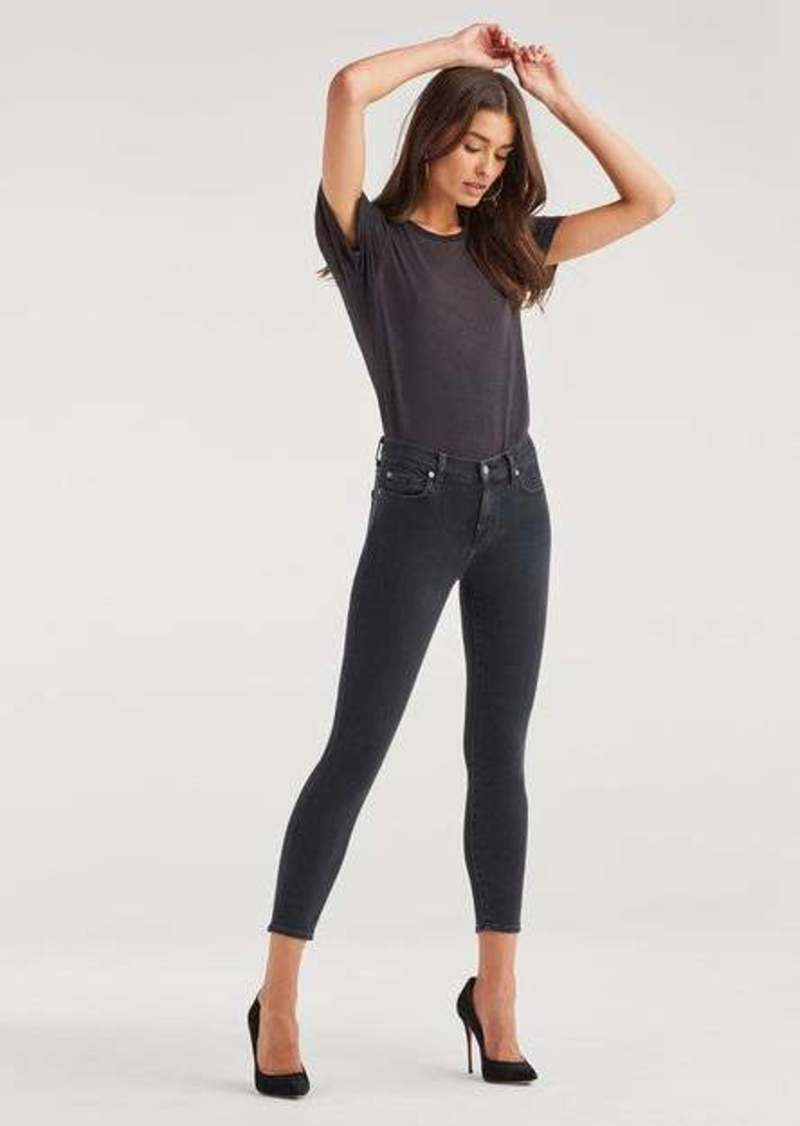7 For All Mankind Luxe Vintage Ankle Skinny in Moon Shadow