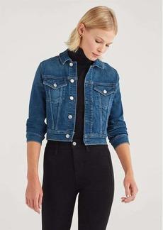 7 For All Mankind Luxe Vintage Shrunken Jacket in Stellar