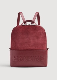 7 For All Mankind Mankind Backpack in Burgundy