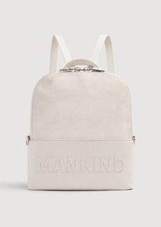 7 For All Mankind Mankind Backpack in Winter White