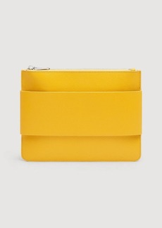 7 For All Mankind Mankind Clutch in Yellow