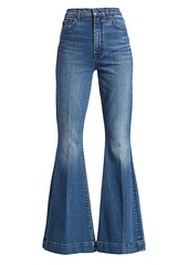7 For All Mankind Mega High-Rise Super Flare Jeans