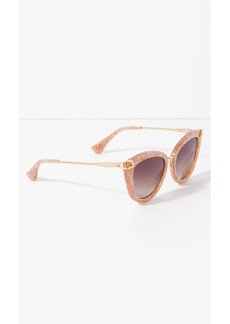 7 For All Mankind Melrose Sunglasses in Candy Pink