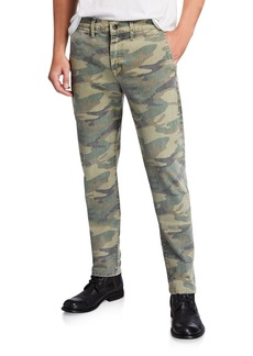 7 For All Mankind Men's Camo Slim Chino Pants