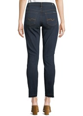 7 For All Mankind Men's Gwenevere Released-Hem Ankle Jeans