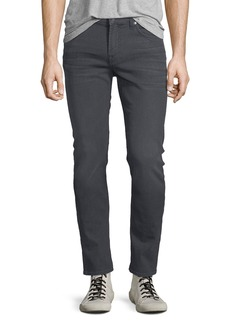 7 For All Mankind Men's Paxtyn Skinny-Leg Jeans  Gray