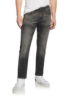 7 For All Mankind Men's Slimmy Slim Stretch-Denim Jeans  Cloudburst