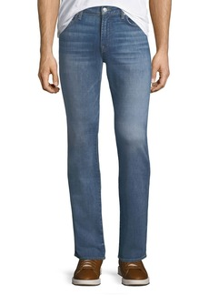 7 For All Mankind Men's Slimmy Slim/Straight-Leg Jeans  Desert Warrior