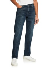 7 For All Mankind Men's Standard Straight-Fit Denim Jeans