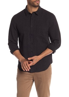 7 For All Mankind Microstripe Long Sleeve Shirt