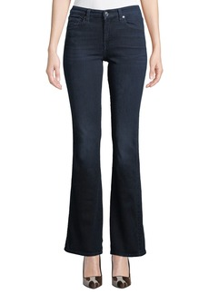 """7 For All Mankind Mid-Rise Kick-Flare Jeans - Tonal """"A"""" Pocket"""