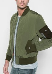 7 For All Mankind Military Patch Bomber in Army