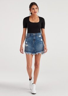 7 For All Mankind Mini Skirt with Destroy in Montreal