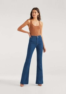 7 For All Mankind Modern 'A' Pocket in Avant Rinse