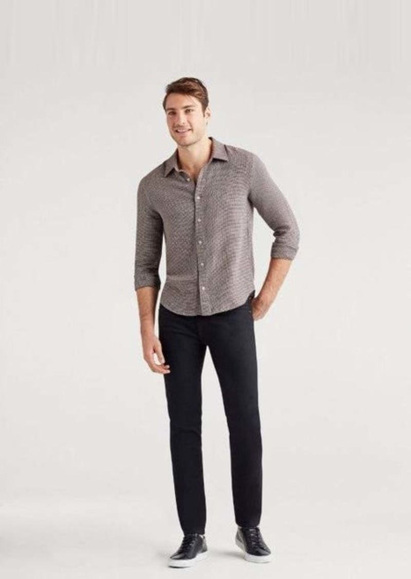 7 For All Mankind No-Fade Paxtyn with Clean Pocket in True Black