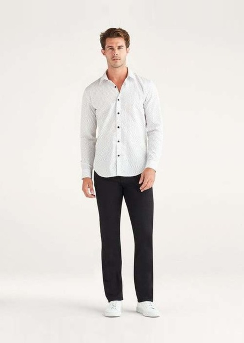 7 For All Mankind No-Fade Slimmy with Clean Pocket in True Black
