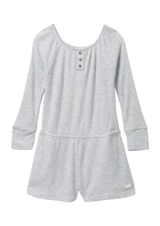 7 For All Mankind Off-the-Shoulder Romper (Big Girls)