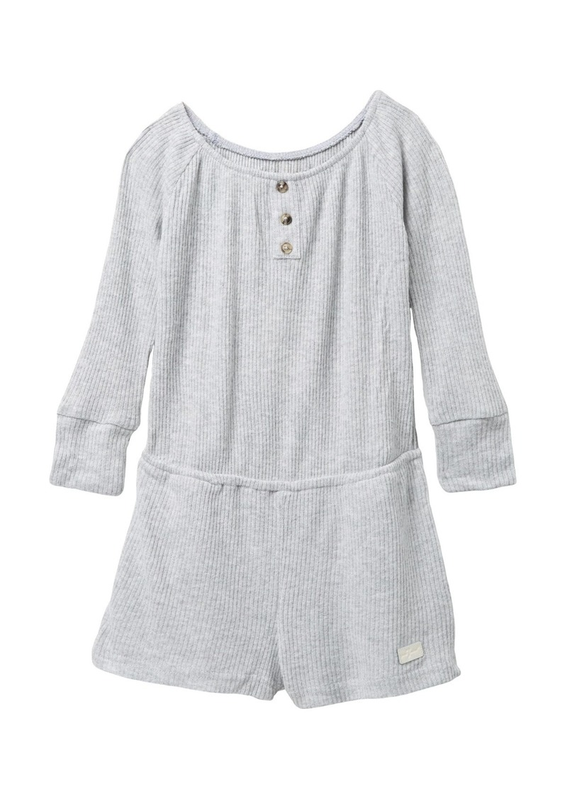 7 For All Mankind Over The Shoulder Romper (Little Girls)